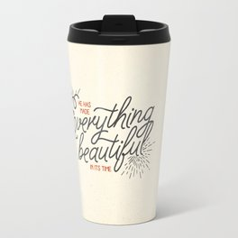 EVERYTHING BEAUTIFUL Travel Mug