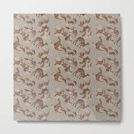 Camelflage Metal Print