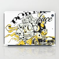poker iPad Cases featuring Poker face by Tshirt-Factory