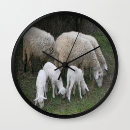 The Really Ewesful Company Wall Clock