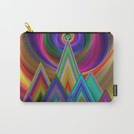 Summer Night at the Mountains Carry-All Pouch