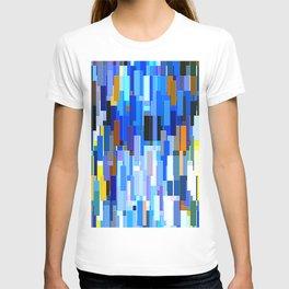 illustrations abstract colorfu T-shirt