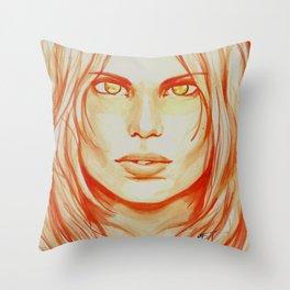 I Create Myself Throw Pillow