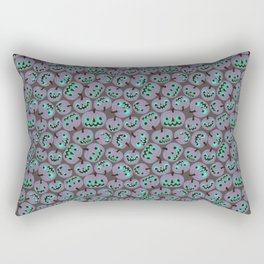 purple pumpkins Rectangular Pillow