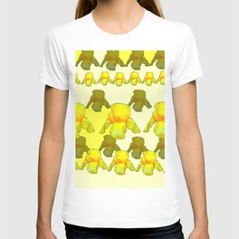 YELLOW IRIS FIELDS T-shirt