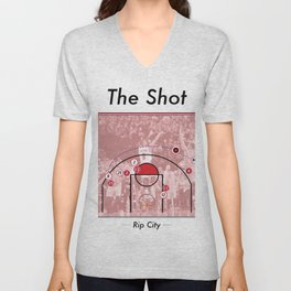 The Shot Series - Damian Lillard Unisex V-Neck