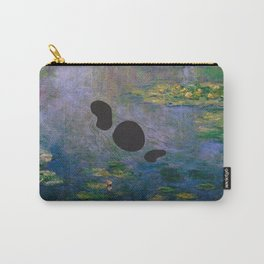 Lochness Monster in the Lillies Carry-All Pouch