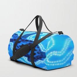 Aboriginal Art - Tortoise (Auowara) Duffle Bag