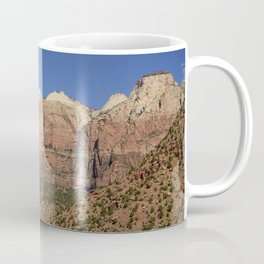 The Streaked Wall - Zion National Park, Utah Coffee Mug
