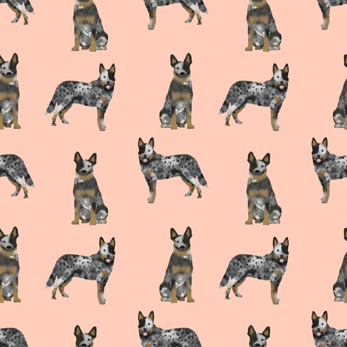 Australian Cattle Dog blue heeler dog breed gifts for cattle dog owners Comforters