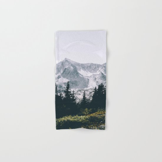 Mountains #faded Hand & Bath Towel