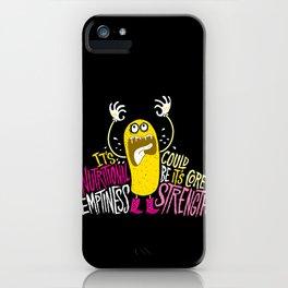 Twinkie. Emptiness. iPhone Case
