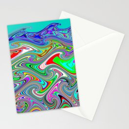 Wavewarping Stationery Cards
