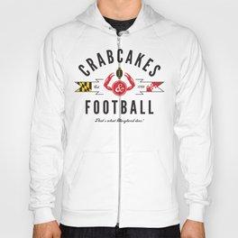 Crabcakes & Football Hoody