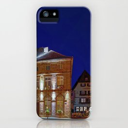 Weissenburg City Hall Mairie de Wissembourg Place de la République Alsace-Champagne-Ardenne-Lorraine iPhone Case