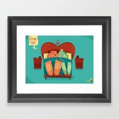 :::Bedtime Hugs::: Framed Art Print