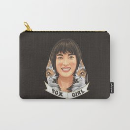 The Fox Girl Carry-All Pouch