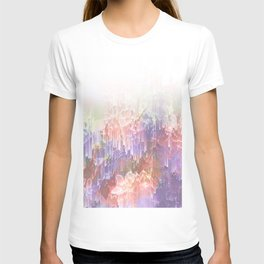 Frozen Magical Nature - Peach and Ultra-Violet T-shirt
