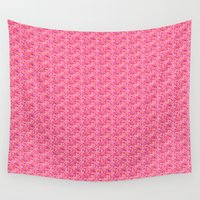 valentine Wall Tapestries featuring Valentine by Helena Harvey