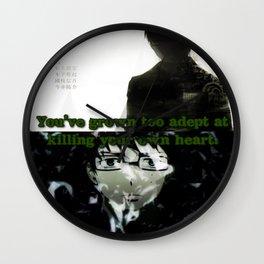 Fragile Heart - Yukio Okumura Wall Clock