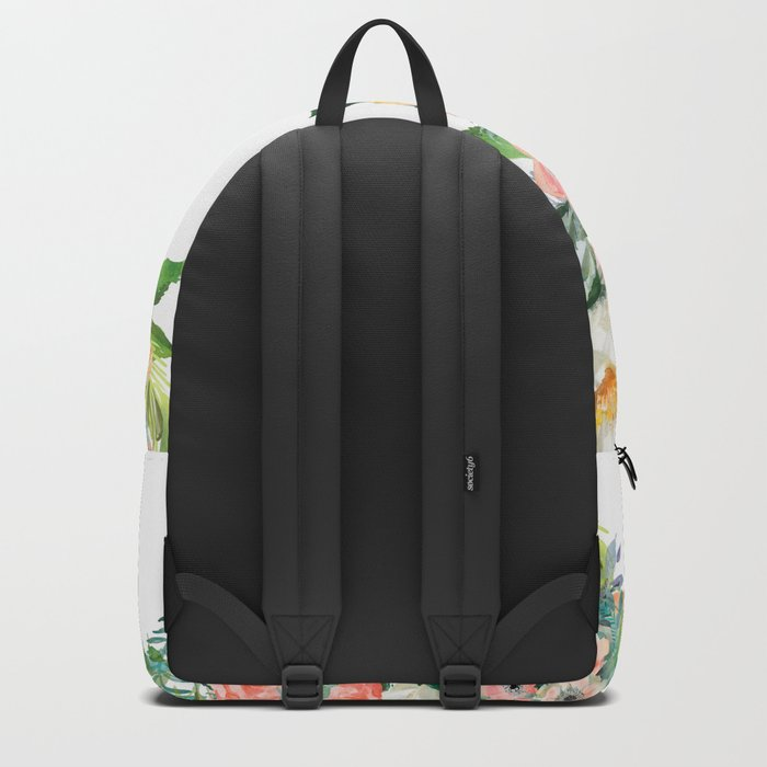 Wake Up, Smile and Tell yourself: Today is my Day! Backpack