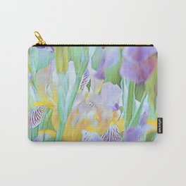 An Iris Abstract Carry-All Pouch