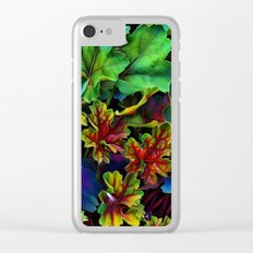 Colorful Color Clear iPhone Case