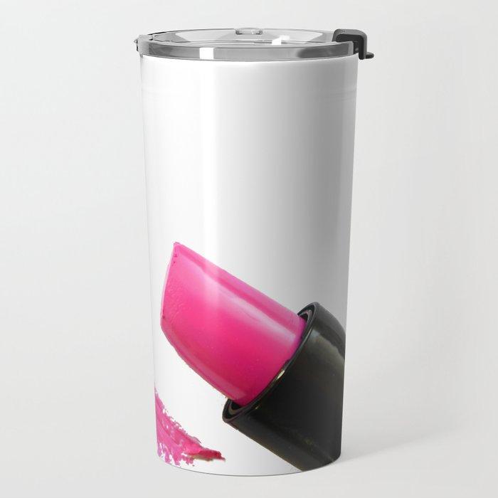 Breast Cancer Awareness Ribbon Travel Mug