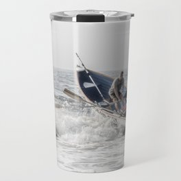Get a leg up Travel Mug