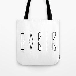 hadid Tote Bag