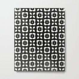 MARTA BLACK Metal Print