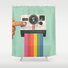 Take a Picture. It Lasts Longer. Shower Curtain