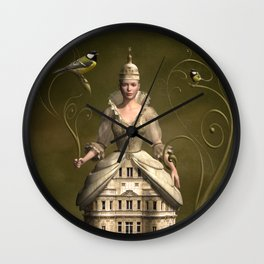 Kingdom of her own Wall Clock