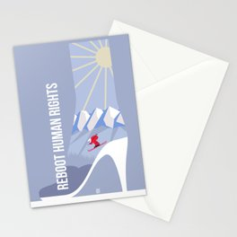 Winter games Stationery Cards