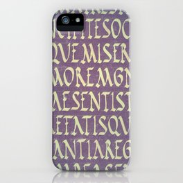 virgil iPhone Case