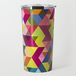 Platonic triangles Travel Mug