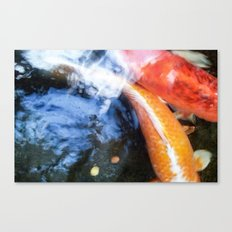 Koi Abstraction 004 Canvas Print