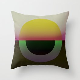 Solar Horizon Throw Pillow