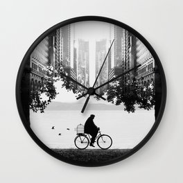 Ride Away Wall Clock