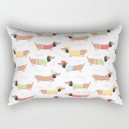 Cute Bassotti Rectangular Pillow