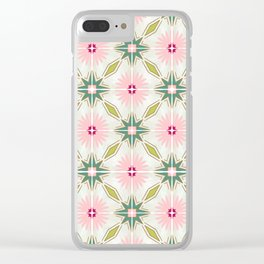 Tile no. 15 Clear iPhone Case