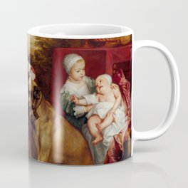 "Sir Anthony van Dyck ""The Five Eldest Children of Charles I"" Coffee Mug"