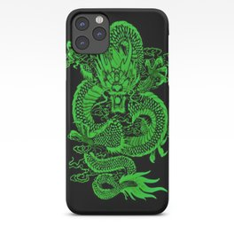 Epic Dragon Green iPhone Case