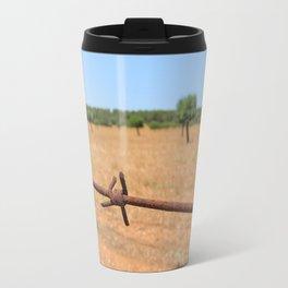 barbwire  Travel Mug