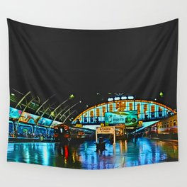 Last Train From Thailand Wall Tapestry
