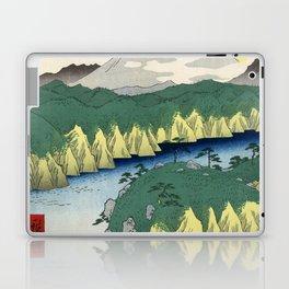Hiroshige - 36 Views of Mount Fuji (1858) - 21: Lake at Hakone Laptop & iPad Skin