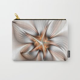 Elegance of a Flower, modern Fractal Art Carry-All Pouch
