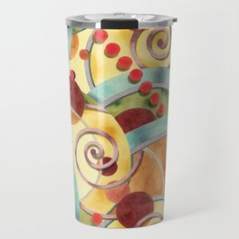 Europa Pattern Travel Mug
