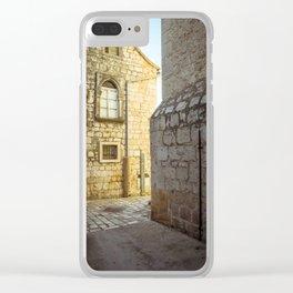 Corner Clear iPhone Case