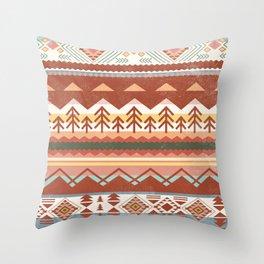 Boho Graphic Moroccan Oriental Carpet Modern Pattern Art Design - 1 Throw Pillow